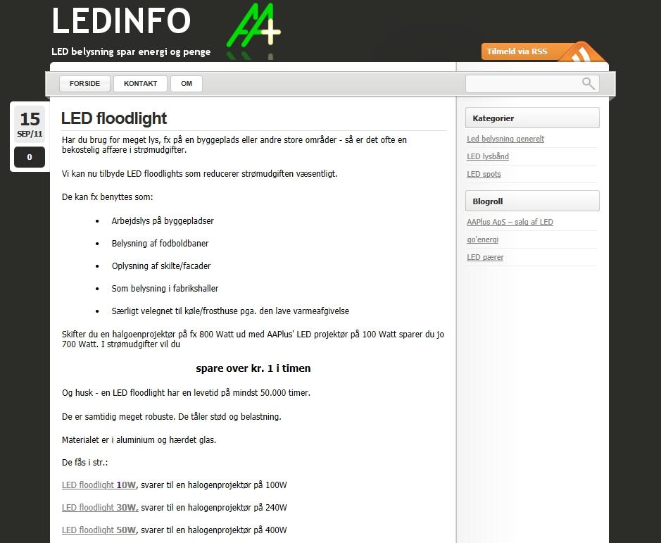ledinfo